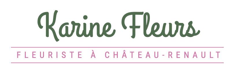 logo de la fleuriste  Karine Fleurs à Château-Renault